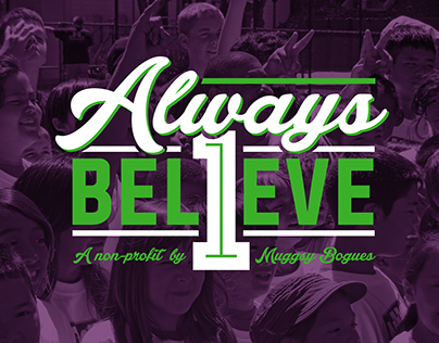 Always Believe Inc. A non-profit by Muggsy Bogues
