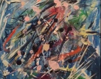 Fusion2 - Acrylic on Canvas