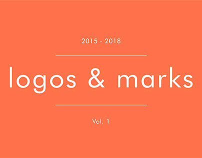 Logos and marks Vol. 1