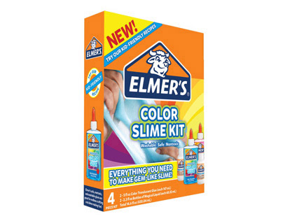 Elmer's Slime Kits Artwork