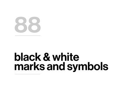 Shapes, symbols and marks