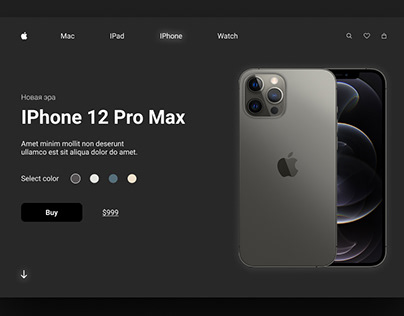 Landing Page Release Iphone 12 Pro Max