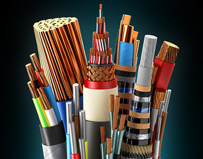 3D modelling & vizualization of electrical cables