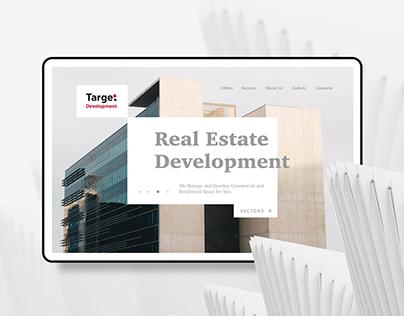 Target Development Web Site Concept
