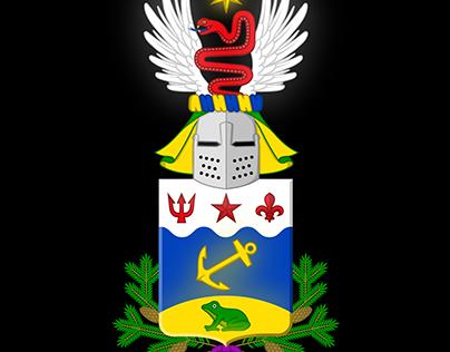 Fantasy Coat Of Arms Illustration: Libido