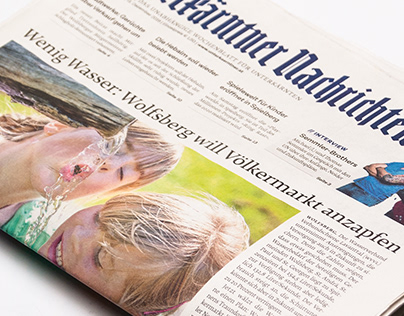 Editorial Design Newspaper