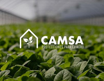 Full Rebranding-Website-Social Media for CAMSA SRL
