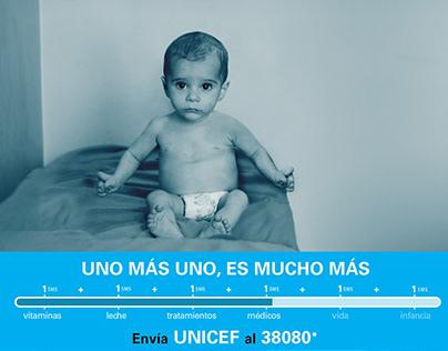 Uno más uno es mucho más - UNICEF