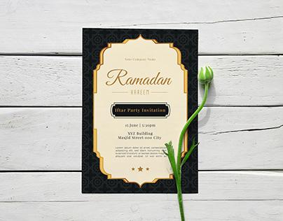 Iftar Party Invitation Flyer