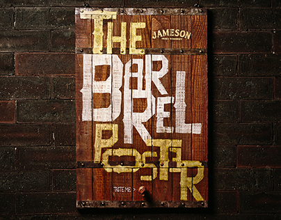 The Barrel Poster - Jameson