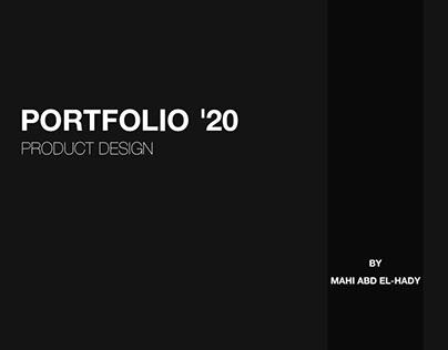 Product Design Portfolio 2020