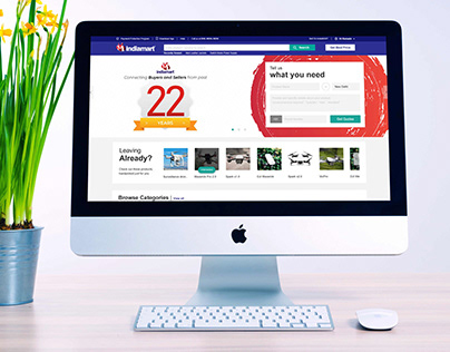 Homepage Re-Design _ IndiaMART