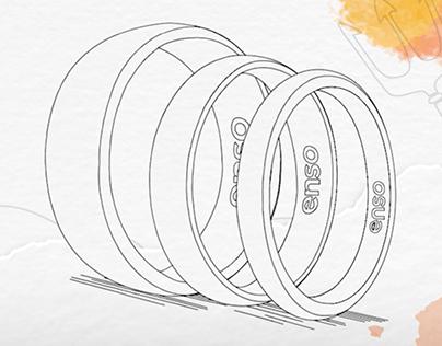 Motion Design social media ads - Enso Rings
