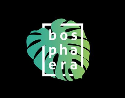 BOSPHAERA - logo for cosmetic brand