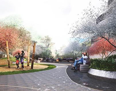 Pao's Hotel Landscape Concept