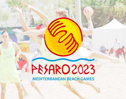 Proposta di brand identity per Pesaro 2023 M.B.G.