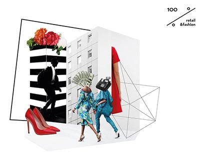 100% Retail&Fashion conference   Rebranding
