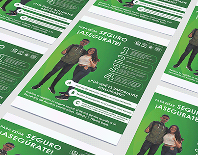 Cartel: seguro social UNAM