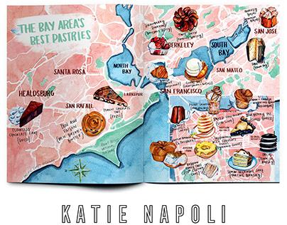Bay Area Pastry Map // Ambrosia Magazine