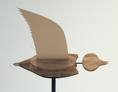 FLYING DUCK - Kinetic object