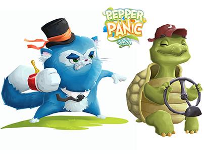 Pepper Panic Saga - Character Design - King