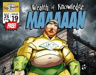 2nd Wealth of Knowledge Man Poster Design/Illustration