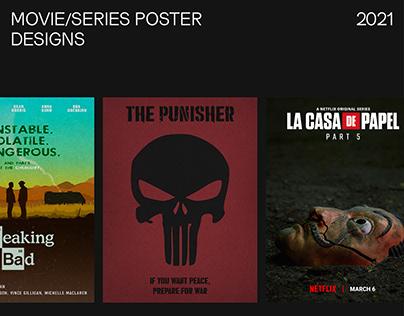 Poster Designs - Movie/Series