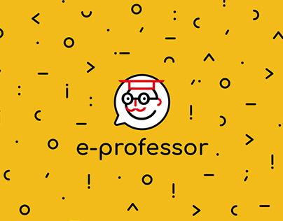 e-professor— distance e-platform .