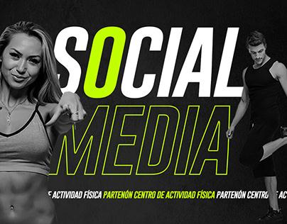 Social Media - Centro de Actividad Física Partenon