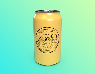Camel Beer Label