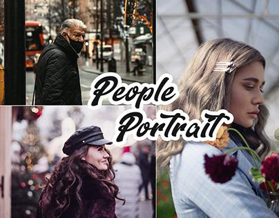 People Portrait Photoshop Actions