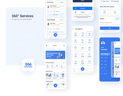 360° Services App