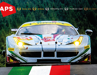 Marco Cioci Official GT Driver Poster and Postcard