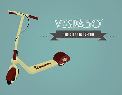 Patinete Vespa 50' | 2012