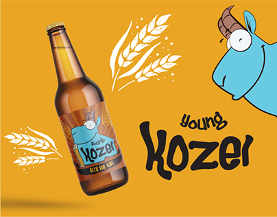 Young Kozel: Brand Identity & Packaging Design