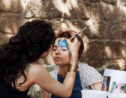 Workshop de Pinturas Faciais - Sementeira'15