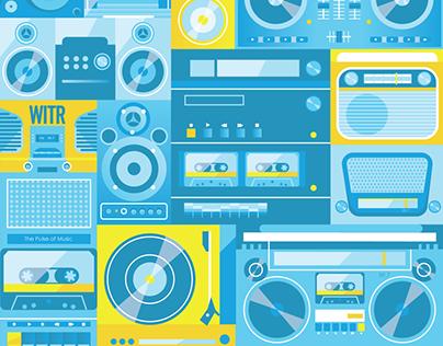Radio Vector Illustrations
