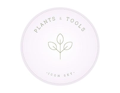 plants & tools