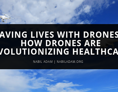 How Drones are Revolutionizing Healthcare