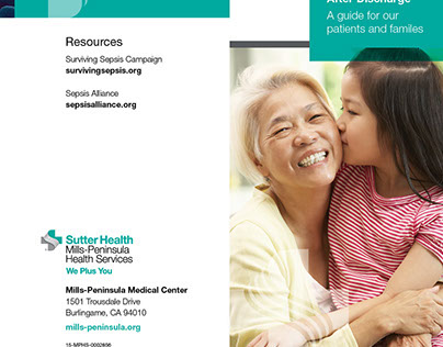 SH-MPHS - Sepsis Patient Discharge Edu - Brochure