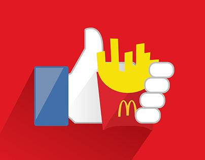 McDonald's™ Wi-Fi Gratis Print Ad Campaign