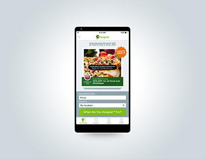 Hungree Food Runner Concept Design