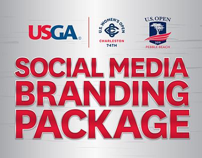 Social Media Branding Package | USGA