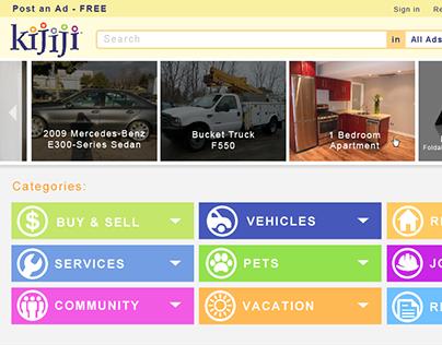 Kijiji Website Redesign