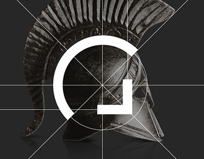 Spartans Construction — Brand identity