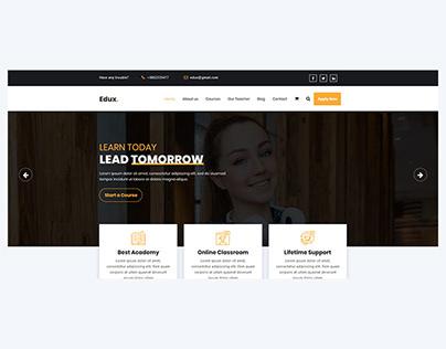 Edux - Education & Online Courses Multipages Template