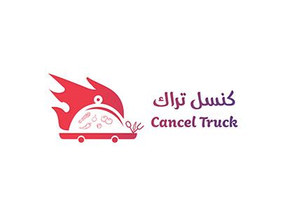 Cancel Truck Logo