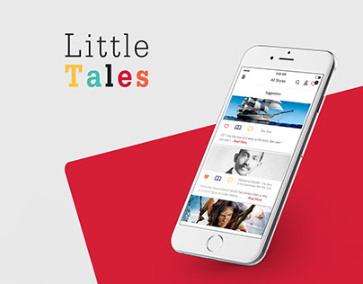 Mobile App to Read Stories.