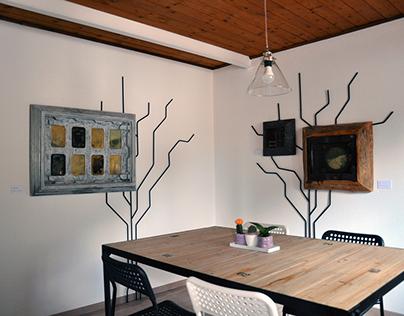 Tree.0   wall tree in steel