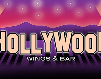 Logotipo Hollywood Wings